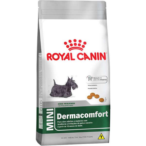 Ração Royal Canin Mini Dermacomfort para Cães Adultos ou Idosos de Raças Pequenas
