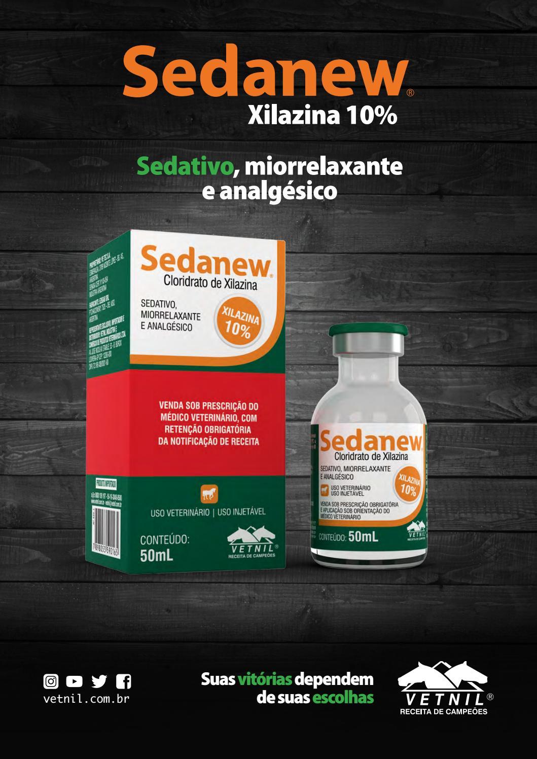 Sedativo iorrelaxante Sedanew® (Xilazina 10%)