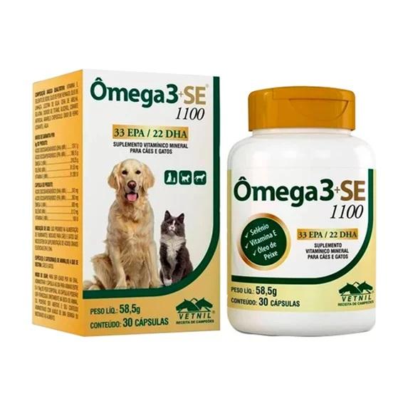 Associação de ácidos graxos Ômega 3+SE
