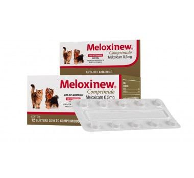 Anti-inflamatório Vetnil Meloxinew Comprimido