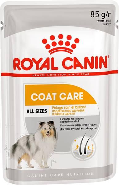 Ração Royal Canin Sachê para Cães Coat Beauty Wet