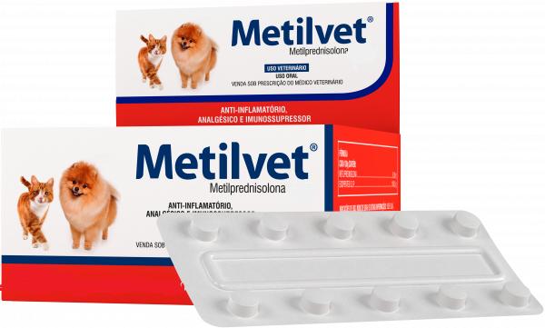 Anti-inflamatório, Analgésico e Imunossupressor Metilvet